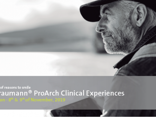 Straumann® ProArch Clinical Experiences November 2019