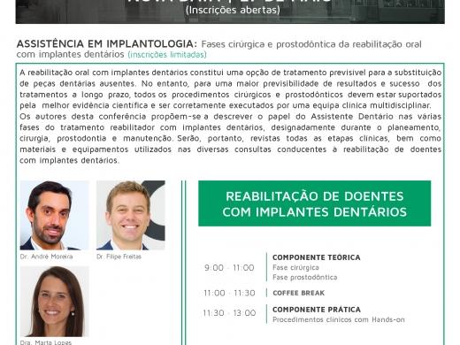 Curso de Assistência em Implantologia