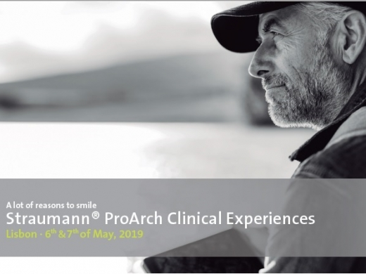 Straumann ProArch Clinical Experiences with Hands-on / Lisbon